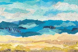 Abstract Coastal I by Courtney Prahl