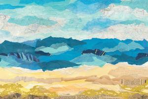 Abstract Coastal I by Courtney Prahl