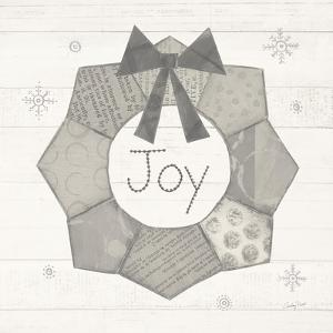 Christmas Patchwork II Neutral by Courtney Prahl