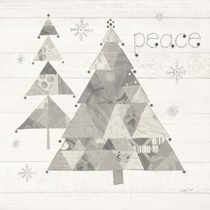 Christmas Patchwork IV Neutral by Courtney Prahl