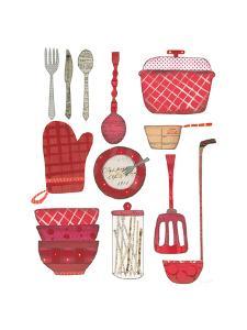 Cool Kitchen II by Courtney Prahl