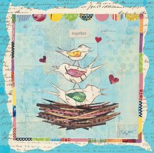 Family of Love Birds by Courtney Prahl