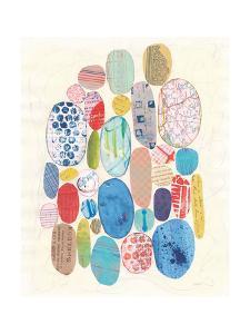 Geometric Collage I Bright by Courtney Prahl