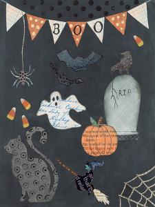 Halloween Whimsy II by Courtney Prahl