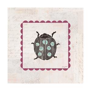 Ladybug Stamp Bright by Courtney Prahl