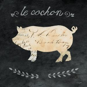 Le Cochon Cameo Sq by Courtney Prahl