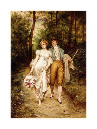 Courtship-Joseph Frederic Soulacroix-Giclee Print