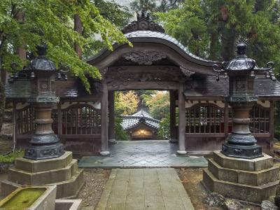 Courtyard, Eiheiji Temple, Fukui, Japan-Rob Tilley-Photographic Print