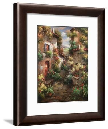 Courtyard Garden-Mauro-Framed Art Print
