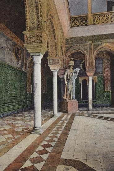 Courtyard in the Alhambra, Granada, Spain--Photographic Print