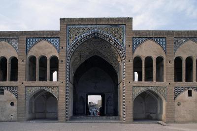 Courtyard of Agha Bozorg Mosque and Madrasa--Giclee Print