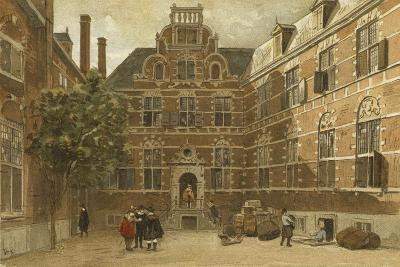 Courtyard of the Oost-Indisch Huis, Amsterdam--Giclee Print