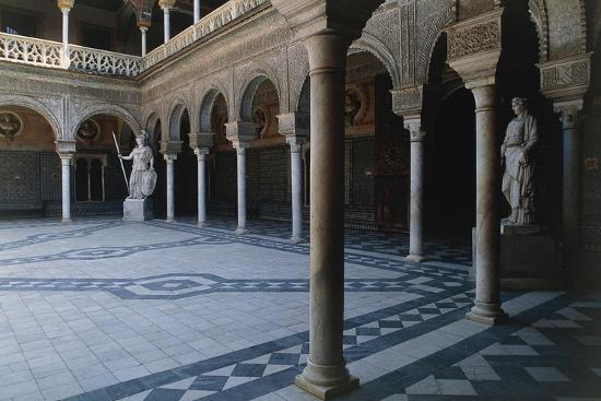 Courtyard, Pilate's House--Giclee Print