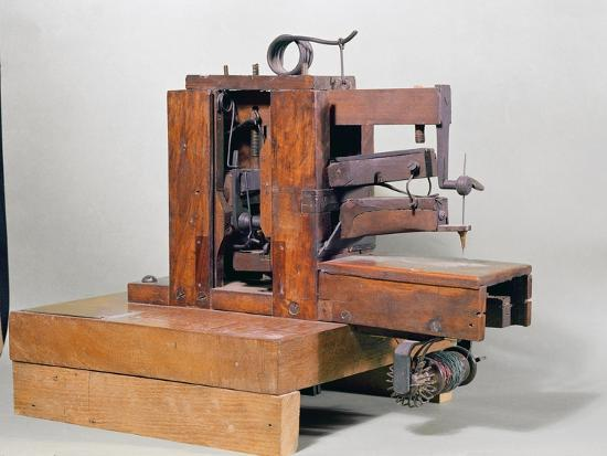 Couseuse The First Sewing Machine 40 Giclee Print By Barthelemy Cool Picture Of The First Sewing Machine