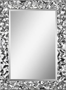 Couture Crinkle Chrome Mirror