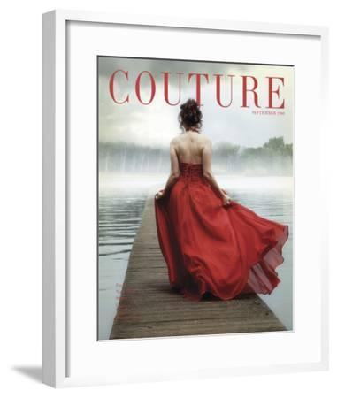 Couture, September 1960--Framed Art Print