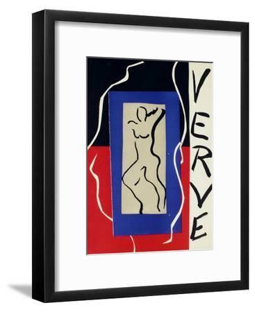Couverture de Verve I-Henri Matisse-Framed Premium Edition