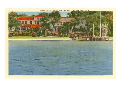 Cove Hotel, Panama City, Florida--Art Print