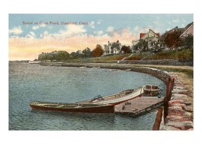 Cove Pond, Stamford, Connecticut--Art Print