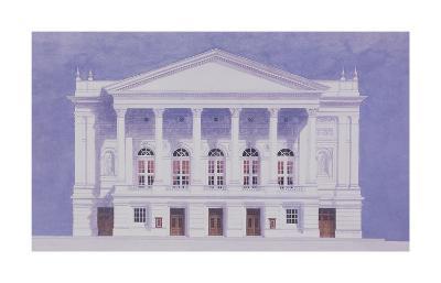 Covent Garden-Andras Kaldor-Premium Giclee Print