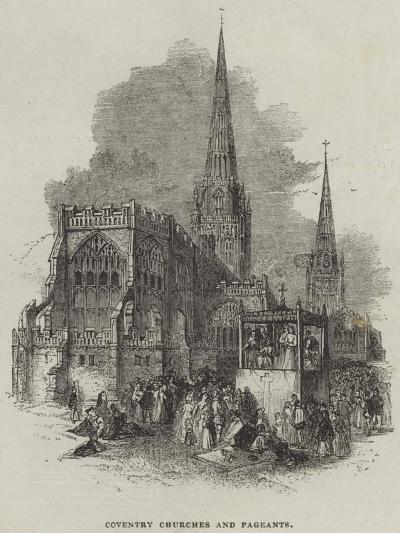 Coventry Churches and Pageants--Giclee Print