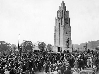 Coventry War Memorial 1927-Staff-Photographic Print