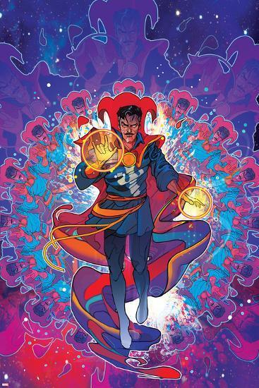 Cover Art Featuring Dr. Strange--Art Print