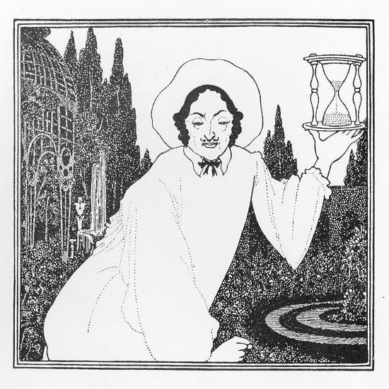 Cover Design to 'The Pierrot of the Minute', 1897-Aubrey Beardsley-Giclee Print