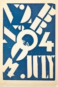 Cover for the Art Magazine 'Broom', C.1921-1924