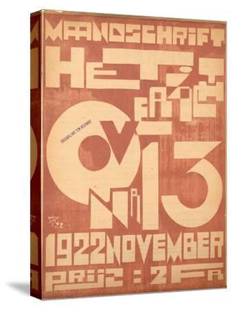 Cover for the November 1922 Issue of the Magazine 'Het Overzicht', 1922