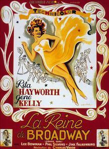Cover Girl (La Reine De Broadway) De Charlesvidor Avec Rita Hayworth, Lee Bowman, 1944