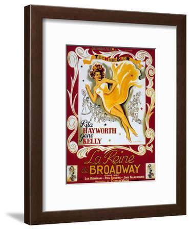 Cover Girl (La Reine De Broadway) De Charlesvidor Avec Rita Hayworth, Lee Bowman, 1944--Framed Art Print