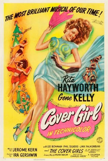 Cover Girl, Rita Hayworth, 1944--Art Print