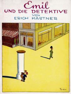 Cover Illustration of the Original Edition of Emil Und Die Detektive