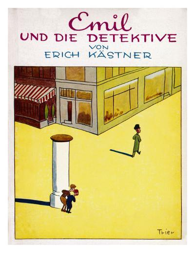 Cover Illustration of the Original Edition of Emil Und Die Detektive--Giclee Print