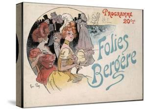 Cover of a Folies Bergere Programme