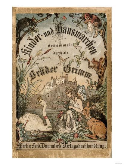 Cover of Brothers' Grimm Tales from a German Edition Published in Berlin, 1865--Premium Giclee Print