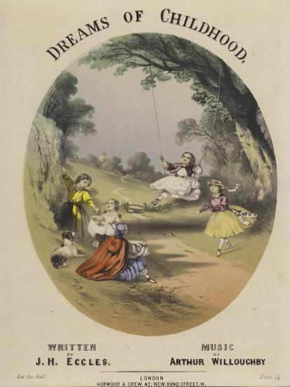 Cover of Dreams of Childhood--Giclee Print