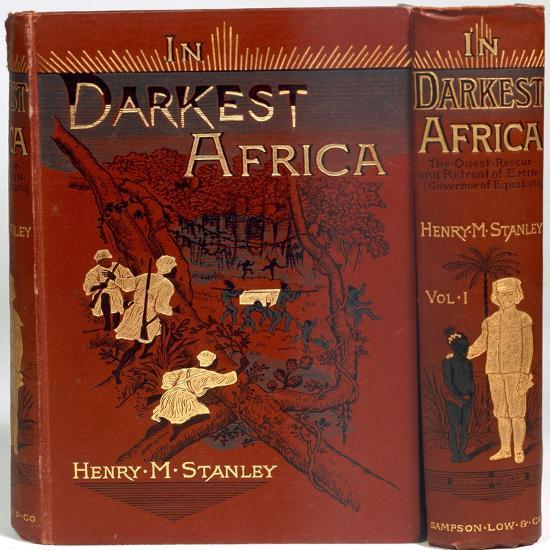 Cover of In Darkest Africa, by Henry Morton Stanley, 1890-Unknown-Giclee Print