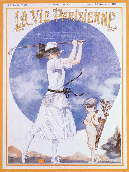 Cover of La Vie Parisienne, French magazine, 23 September 1922-Unknown-Giclee Print