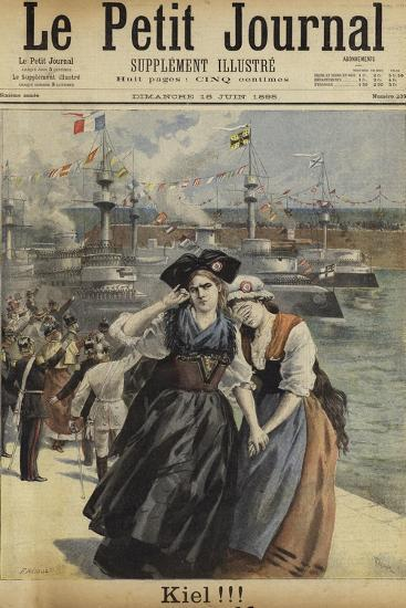 Cover of Le Petit Journal, 16 June 1895--Giclee Print