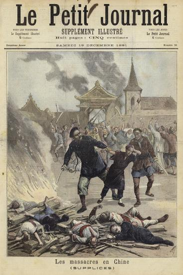 Cover of Le Petit Journal, 19 December 1891--Giclee Print