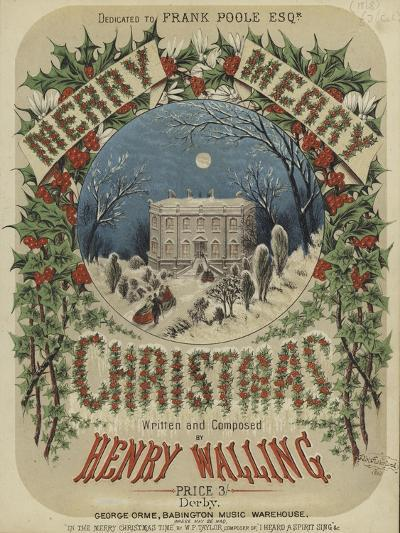 Cover of Merry, Merry Christmas--Giclee Print