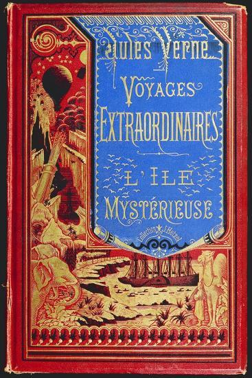 Cover of Mysterious Island, by Jules Verne--Giclee Print