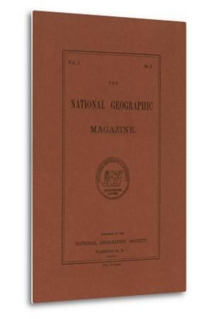 Cover of the April, 1889 National Geographic Magazine
