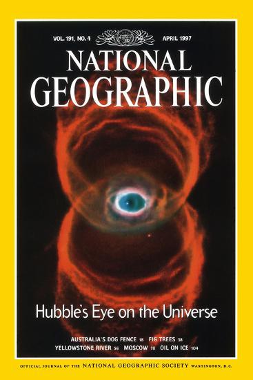 Cover of the April, 1997 National Geographic Magazine--Photographic Print