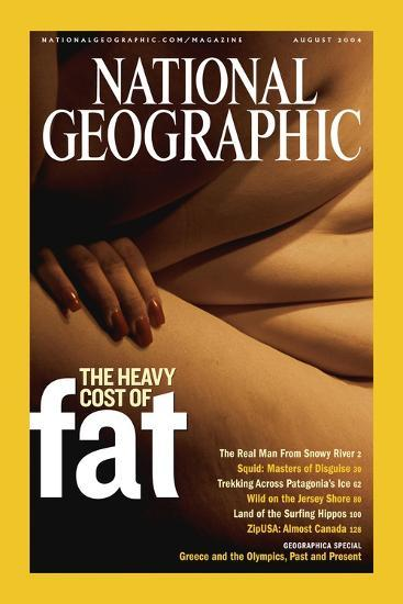 Cover of the August, 2004 National Geographic Magazine-Karen Kasmauski-Photographic Print