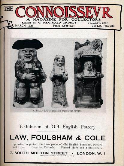 Cover of The Connoisseur, March 1921-Unknown-Giclee Print