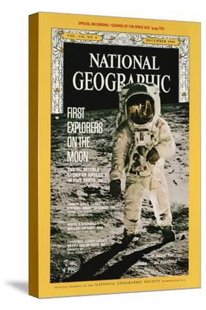 Cover of the December, 1969 National Geographic Magazine