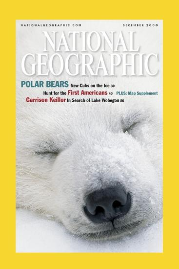 Cover of the December, 2000 National Geographic Magazine-Norbert Rosing-Photographic Print